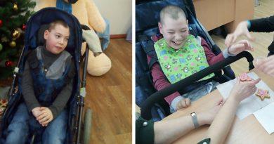 Сидеть в коляске без боли. 12-летнему Вадиму Романчуку нужна ваша помощь!