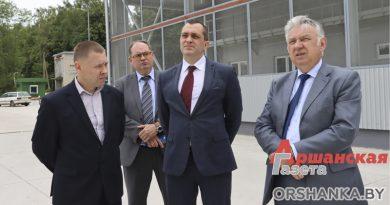Вице-премьер Александр Субботин посетил предприятия в Орше и Устье