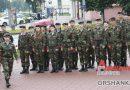 В День Независимости в Орше возложили цветы и венки к Памятному знаку воинам-освободителям