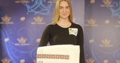 Оршанка вошла в топ-100 самых красивых девушек Беларуси