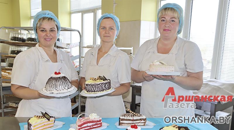 Только посмотрите,  какие торты выпекают на Оршанском хлебозаводе!