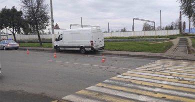 В Орше в ДТП пострадал пешеход