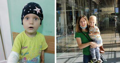 Двухлетний Ваня из Минска борется с онкологией