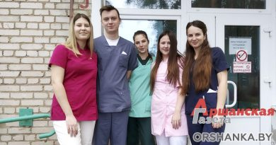 В больницах и поликлиниках Орши медикам помогают студенты из Витебска
