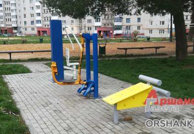 Как в Орше благоустраивают детские площадки
