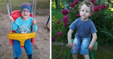 5-летний Тёма из Орши хочет научиться ходить