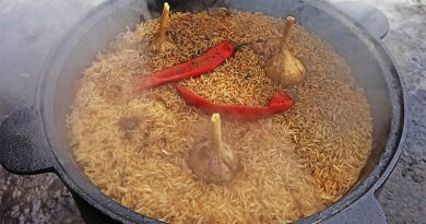 Как готовить узбекский плов в казане. Рецепт с фото