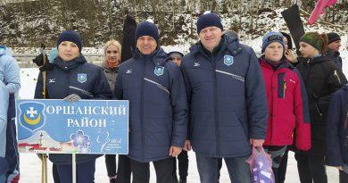 Кто из оршанцев победил на «Витебской лыжне»