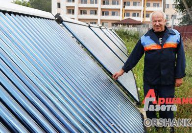 Где в Оршанском районе устанавливают солнечные батареи