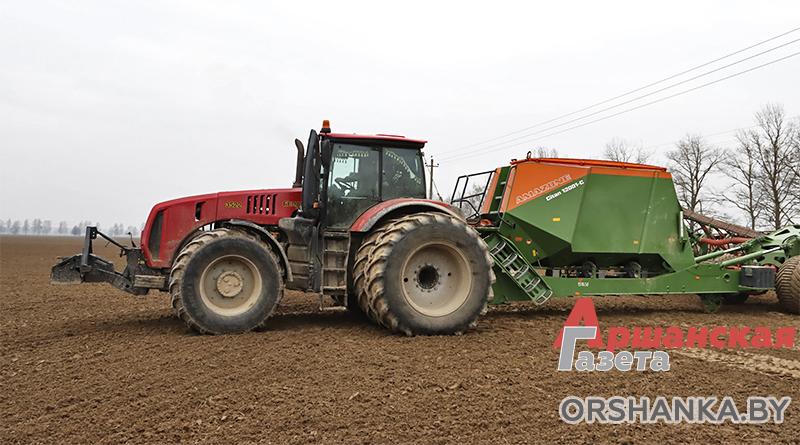 В Оршанском районе завершили сев зерновых и зернобобовых яровых культур
