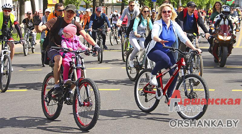 8 мая – открытие велосезона в Орше! Где будет перекрыто дорожное движение