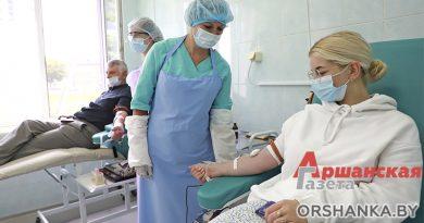 Где и как в Орше можно сдать кровь и стать донором?