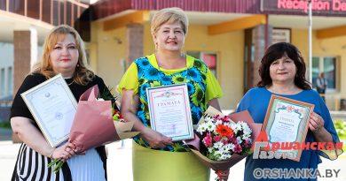 Медицинские работники Оршанщины принимали поздравления и награды в Витебске