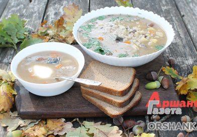 Охотничий грибной суп в казане | видео