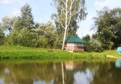 Жители Лариновки на месте болота создали водоем